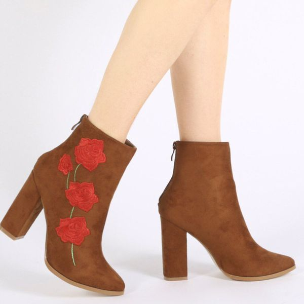 Gucci flower boots fashion