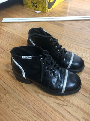 BRONX women's 7.5 made in Italy both heeled boots for Sale in Downey, CA