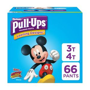 Huggies Pull Ups for little Boys 3T/4T - 66 count for Sale in Fort Worth, TX