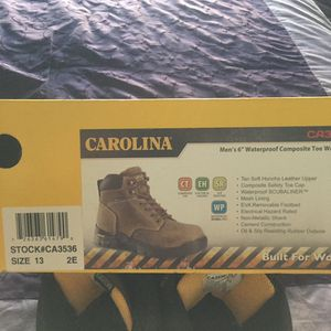 Carolina Size 13 ee Work Boots for Sale in Oklahoma City, OK