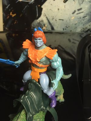 Vintage MOTU Faker Action Figure Toy Collection with Imperial dragon. Made in Malaysia. for Sale in El Paso, TX