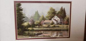Pair of House Paintings for Sale in Battle Creek, MI