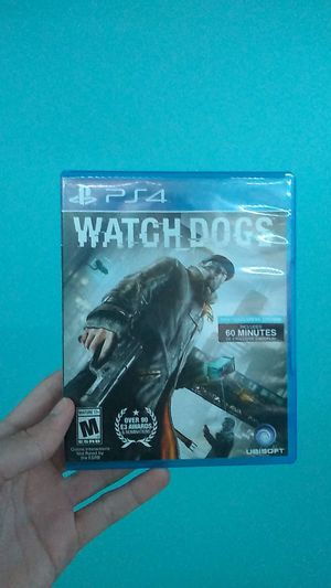 Watch dogs (Ps4 exclusive addition) for Sale in Charlotte, NC