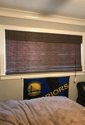 Bamboo Roman shades for Sale in Lodi, CA