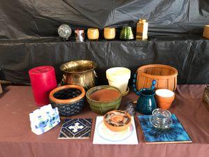 Flower Pots Vases Candle Brass pot for Sale in Winter Garden, FL
