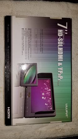 """Lilliput 7"""" HD LCD Monitor Professional for Sale in Madison Heights,  MI"""