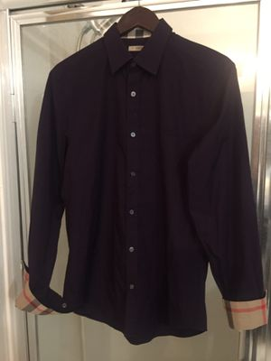 New Authentic Burberry Men shirt size Medium for Sale in Tolleson, AZ