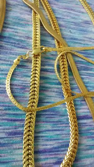 Gold filled chains 22 in &24 in sold in singles $15 each for Sale in Lombard, IL