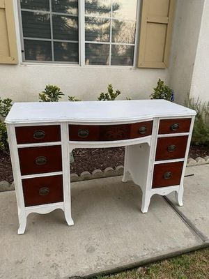 Rustic solid wood desk for Sale in Claremont, CA