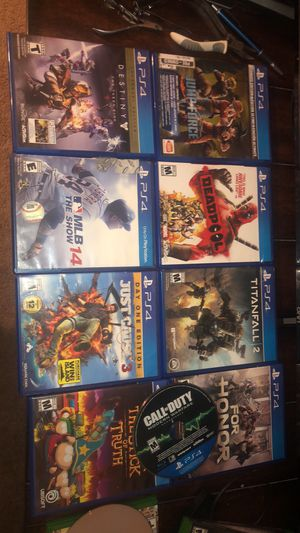 Ps4 games for Sale in Crestview, FL