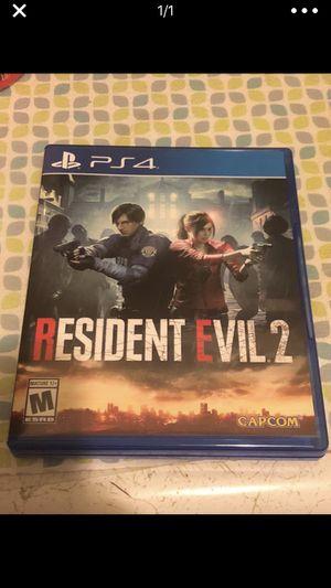 Resident evil 2 for Sale in Manassas, VA