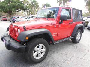 2011 Jeep Wrangler for Sale in Plantation, FL