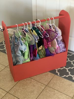 Dresses and storage unit for Sale in Clovis, CA