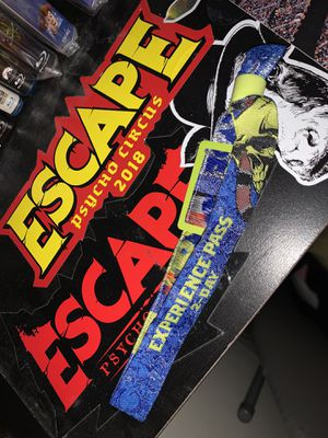 2 Day GA Escape Psycho Circus Ticket for Sale in Los Angeles, CA