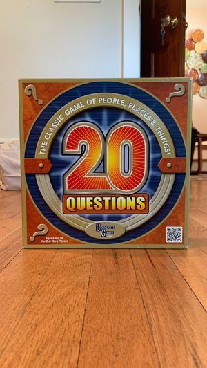 20 Questions by University Games for Sale in Denver, CO