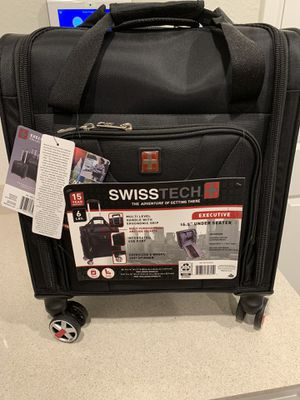 """SwissTech Executive 16.5"""" Carry On - Black for Sale in Houston, TX"""