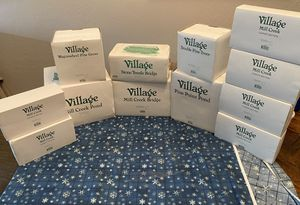 Department 56 village mill creek set 12 pieces for Sale in San Diego, CA