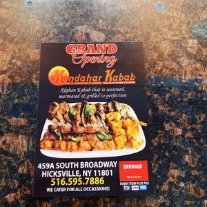 Kandahar Kabab Afghan Halal Cuisine in Hicksville NY 11801 for Sale in Bellmore, NY
