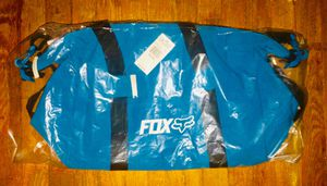 FOX LEGACY DUFFLE BAG BLUE BRAND NEW WITH TAGS for Sale in Englewood, CO