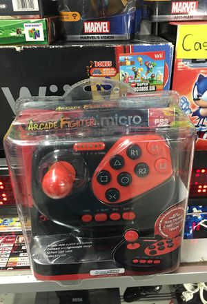 PlayStation 3 arcade fighter stick brand new factory sealed great for fighting games pick up in panorama city for Sale in Los Angeles, CA
