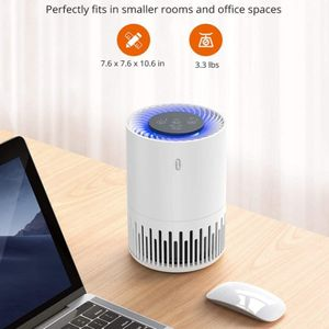 TaoTronics HEPA Air Purifier for Home, Allergens Smoke Pollen Pets Hair, Desktop Air Cleaner with True HEPA Filter, Sleep Mode, Night Light, for Sale in Los Angeles, CA