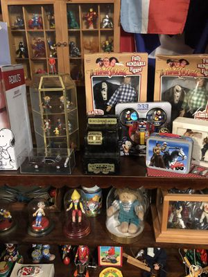 Vintage and collectible toys antiques memorabilia etc. a collection of 17 years everything must go to car garage loaded for Sale in Montclair, NJ