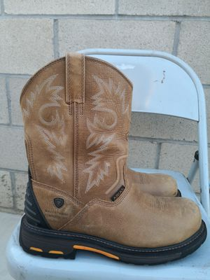 Ariat composite toe work boots size 12D for Sale in Riverside, CA