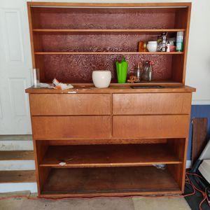 Wodden shelf/cabinet for sale for Sale in Lawrenceville, GA