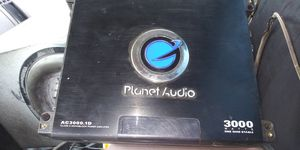 Planet audio amp for Sale in Arkoma, OK