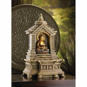 Golden Buddha Temple Fountain for Sale in Lowell, MA