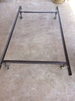 Queen or twin metal bed frame for Sale in Norman, OK