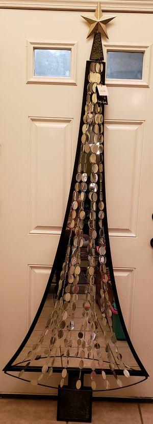 Mirror Wall Christmas Tree Decor for Sale in Broken Arrow, OK