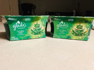 2 2in1 glade candles for Sale in Glendale, AZ