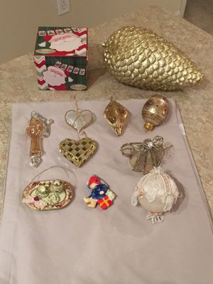 Lot of Christmas Ornaments for Sale in Herndon, VA