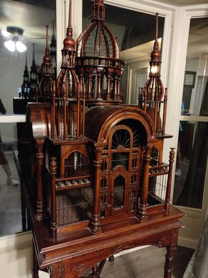 Large Ornamental Bird Cage - Finished for Sale in Houston, TX