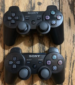 Ps3 playstation 3 controller black wireless for Sale in Carson, CA