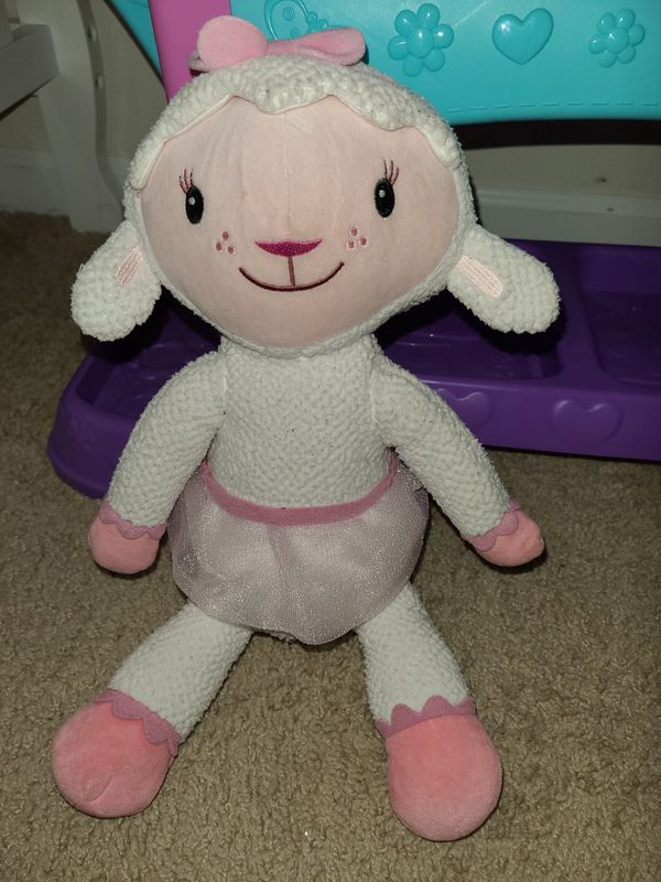 Doc McStuffins Baby All-in-One Nursery, Baby Cici, Lambie doll. Kids toys.
