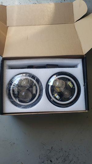 New jeep wrangler headlights for Sale in Carrollton, GA