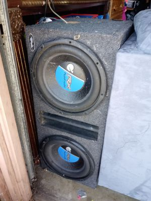 Two twelves in a box Planet Audio for Sale in RANCHO SUEY, CA