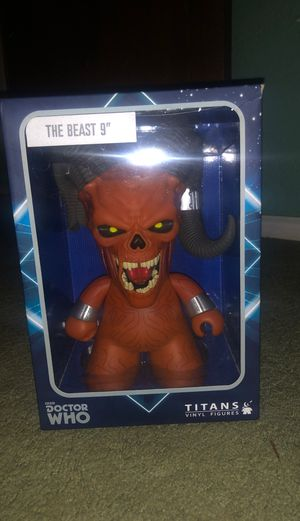 """Doctor who THE BEAST 9"""" Collectable for Sale in Houston, TX"""