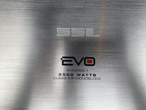 SSL EVO 2500.1 AMPLIFIER 2500 WATTS IN EXCELENT CONDITION..... for Sale in Hoboken, NY