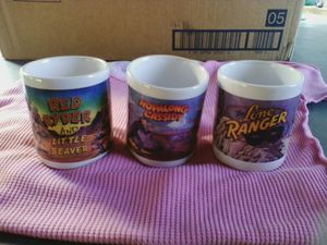 3 assorted mugs. for Sale in Linden, PA