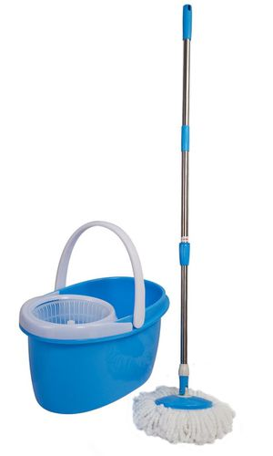New in Box Spin Mop 360 Rotating Head Magic Floor Mop with 2 Microfiber Heads for Sale in Los Angeles, CA