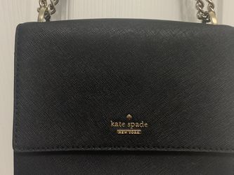 Black Kate Spade Chain & Leather Handbag for Sale in Portland,  OR