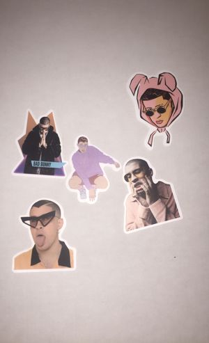 Brand new bad bunny stickers for Sale in Rancho Cucamonga, CA