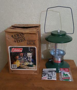 Vintage Coleman Propane Lantern 5114C700 2 Mantles for Sale in Fort Worth, TX