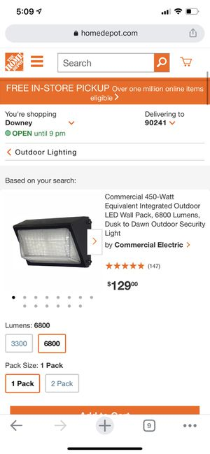 Light for Sale in Whittier, CA