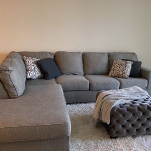 Gray Sectional Couch for Sale in Scottsdale, AZ