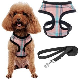 Pink Plaid Harness And Leash Set for Sale in Rancho Cucamonga, CA