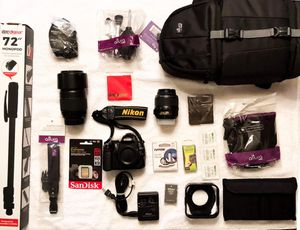 D5000 camera and accessories for Sale in West Bloomfield Township, MI